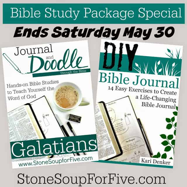 Bible Study Special Ends May 30!