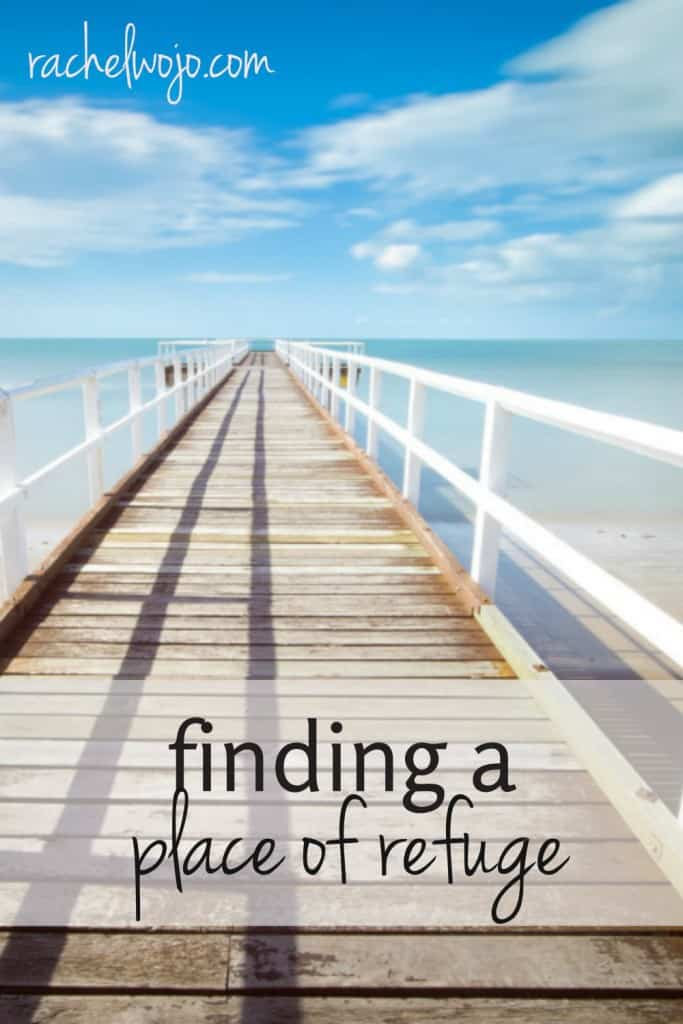 Vacationing on the beach or in your backyard?  In the everyday busyness of life, where can we find moments of peace to restore our souls? Check out 5 unlikely places you can find refuge - right where you are!