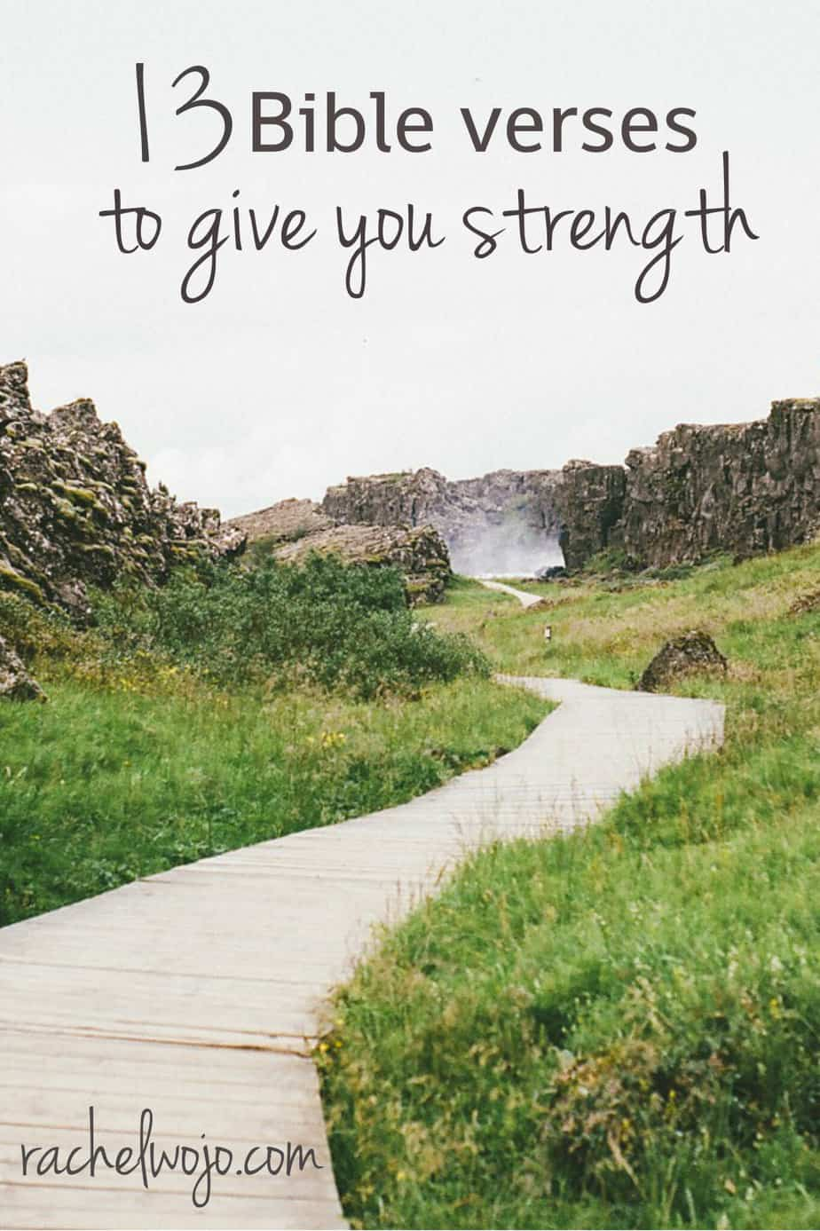13 Bible Verses on Strength