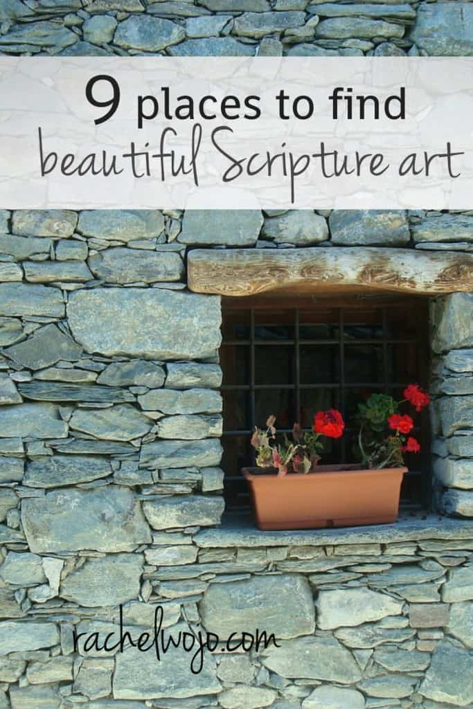 scripture art places