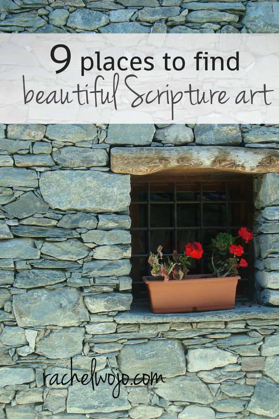 9 places to find beautiful scripture wall art for Places that buy art