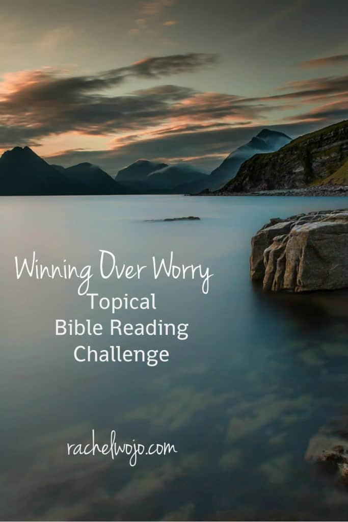 Are you ready to stop worrying and start winning over it? Join us for the July topical Bible reading plan: Winning Over Worry! Starts July 1st, but you can do it anytime!