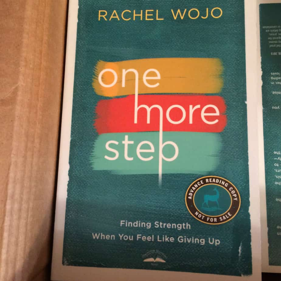 One More Step Book Pre-release GIVEAWAY!