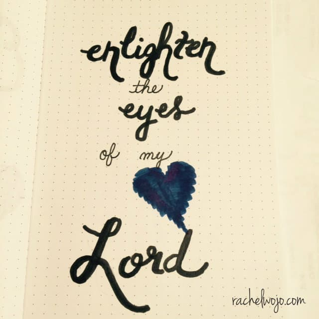 Jesus, may this be our prayer. May you enlighten our eyes so much that we see with our hearts and nothing more. For when we see with the eyes of our hearts, then we begin to see that truly#GodIsBigger !