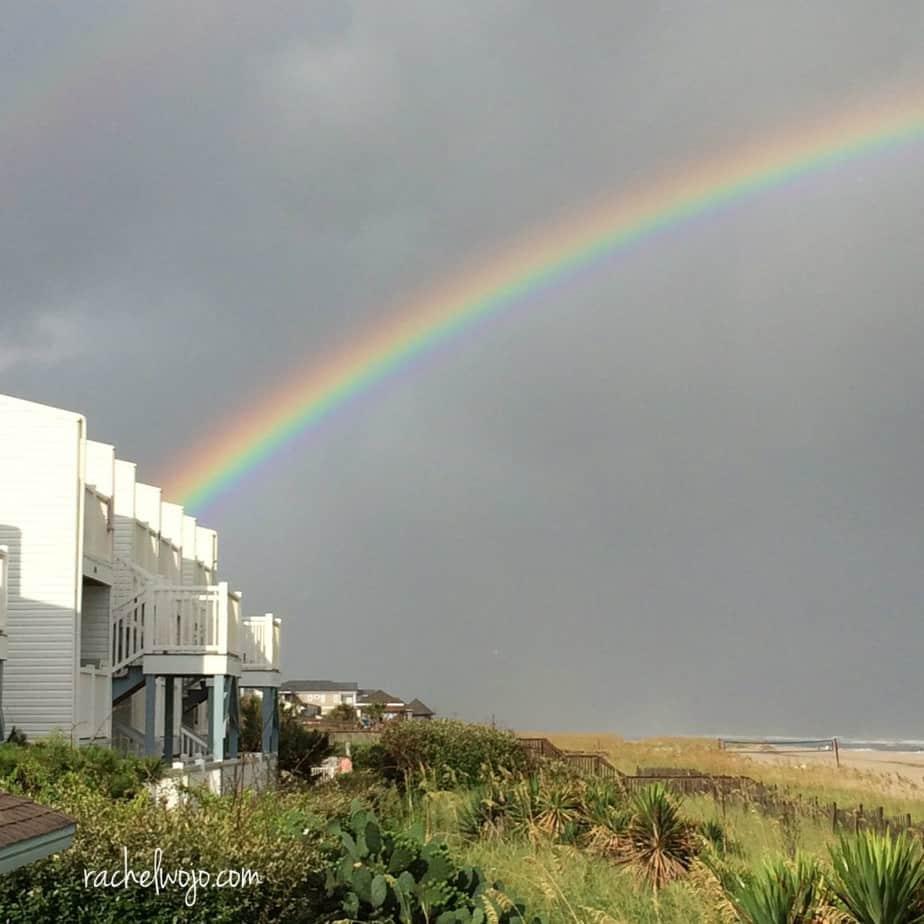 I've never seen a rainbow this bright! #GodIsBigger #nofilter