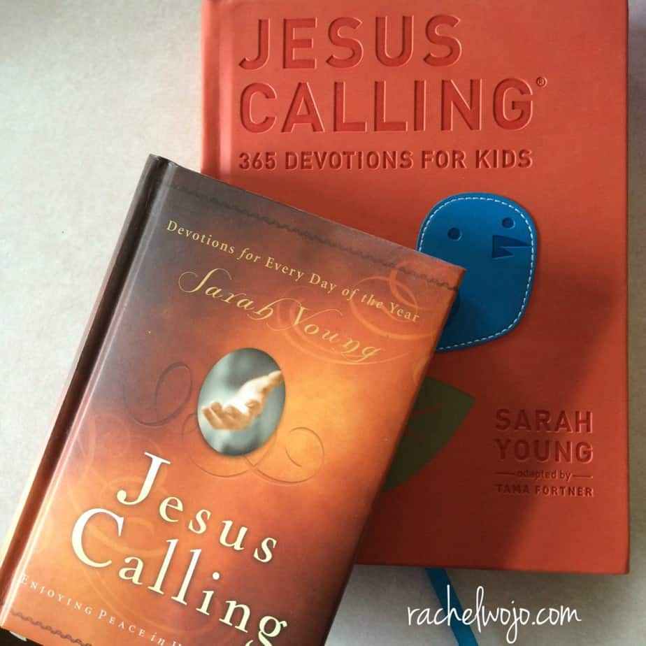 Our family favorite devotionals! Giveaway for a beautiful set of two for a limited time!