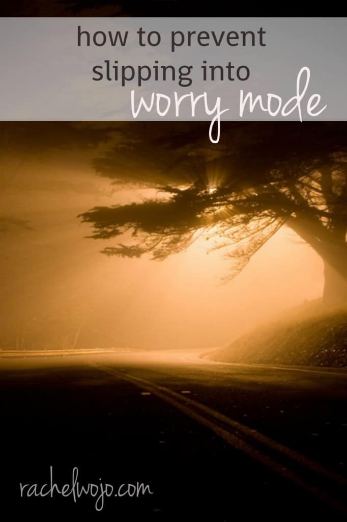That mode of mind when you are trying to convince yourself NOT to worry, but find your thoughts falling into the worry trap? 4 questions to prevent yourself from slipping into worry mode