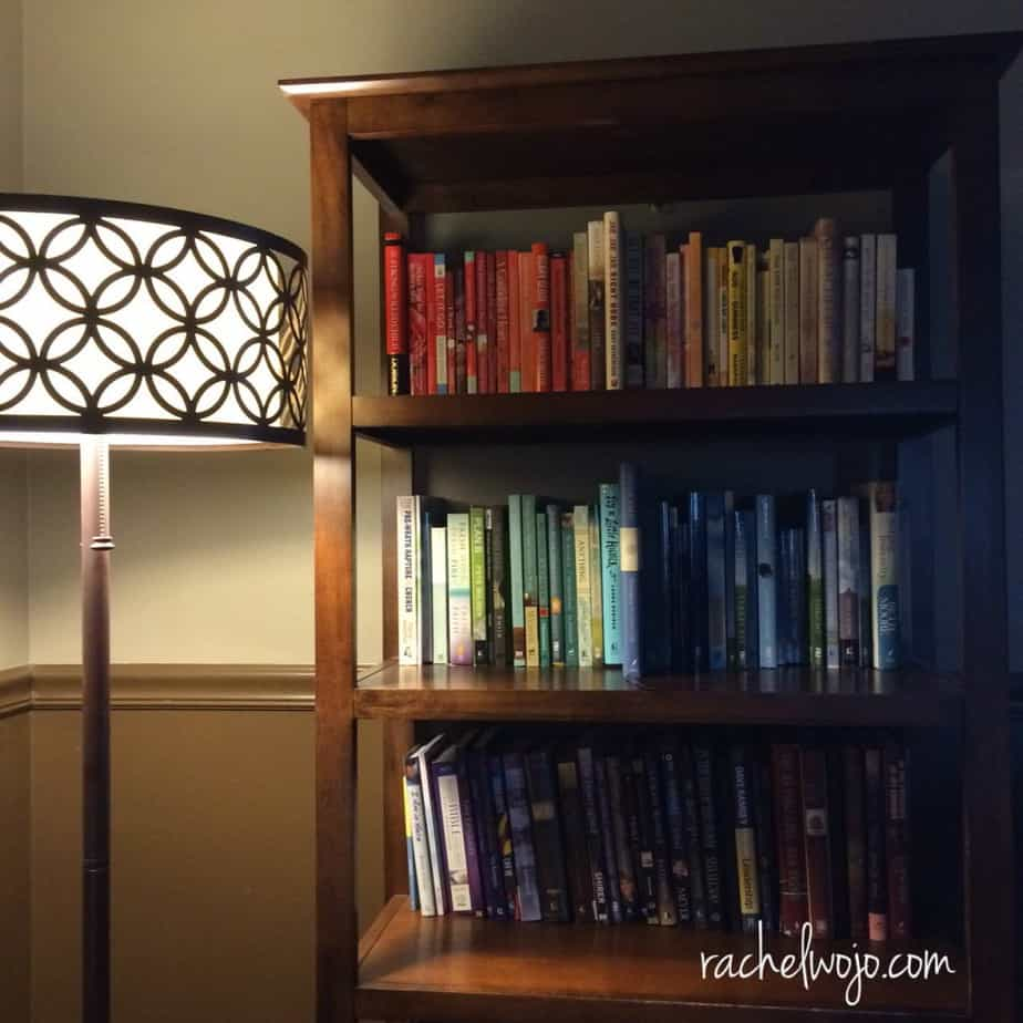 How do you store your books? I first saw this idea on...