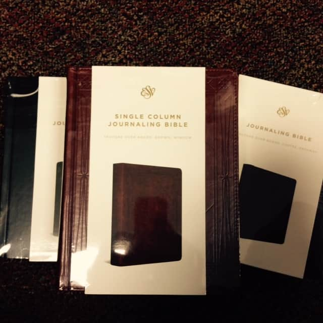 esv journaling bible in box