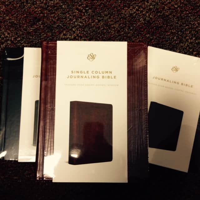 esv journaling bible in box