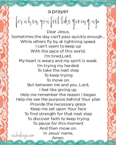 For those times you need a reminder to keep going in his strength.