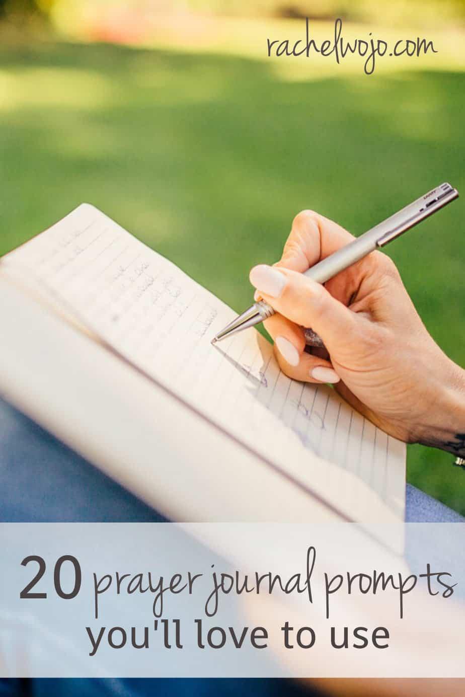 20 prayer journal prompts - rachelwojo