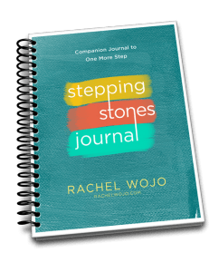 Enjoy this FREE prayer and Scripture journal, designed to accompany the book, One More Step!