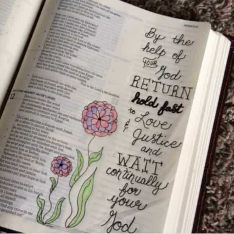 Waiting On God Bible Reading Summary Week 3