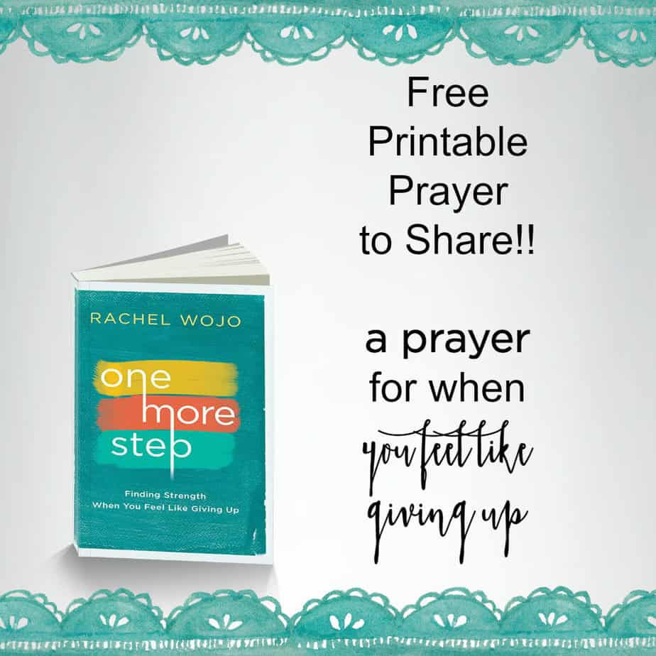 Printable Prayer to Share