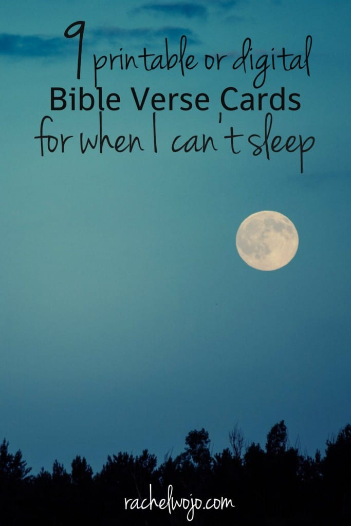 ... printable or digital Bible verse cards to help when you struggle with