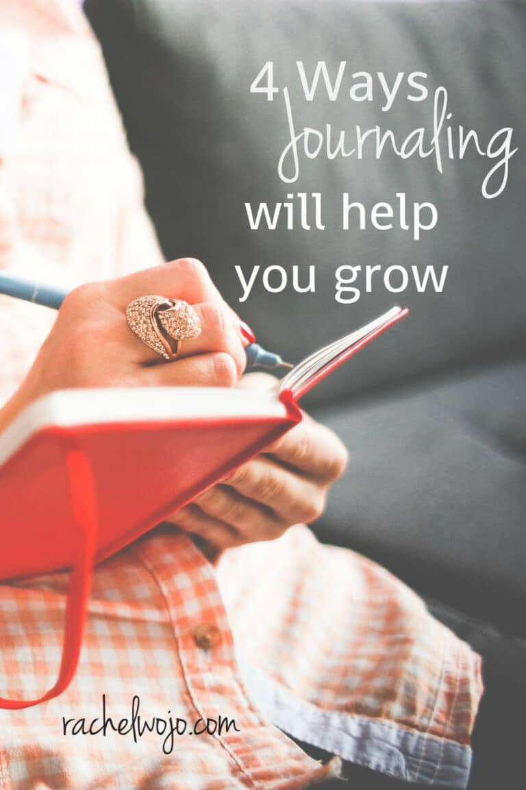 4 Ways Journaling Will Help You Grow