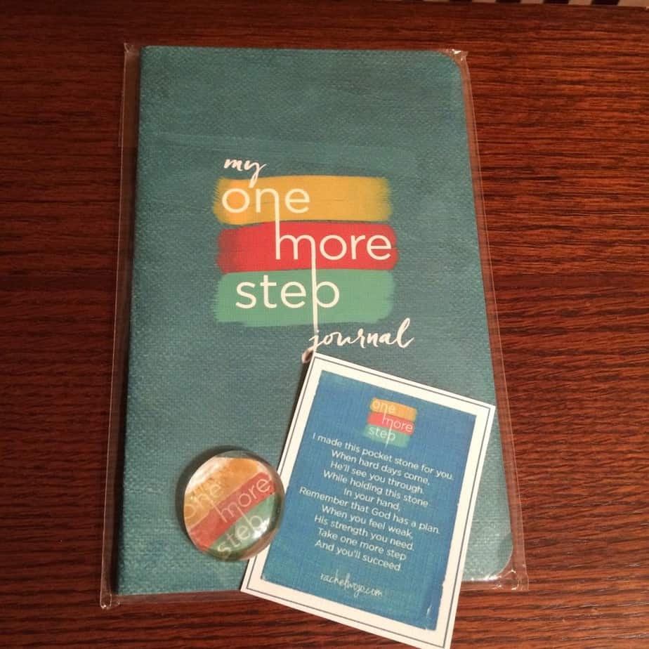 one more step journal giveaway