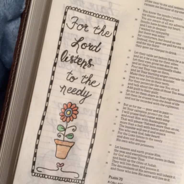 Waiting on God Bible Reading Challenge Summary