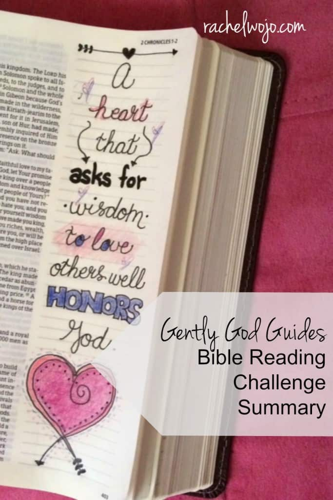 Welcome to the weekly Bible reading challenge summary! This week we finalize the month of reading with Gently God Guides Bible Reading Final Summary. Hasn't this month of reading been just what God would have for us? Who gave it a strong finish? Let's review the reading for the week! #biblereading #gentlyGodguides #biblejournaling