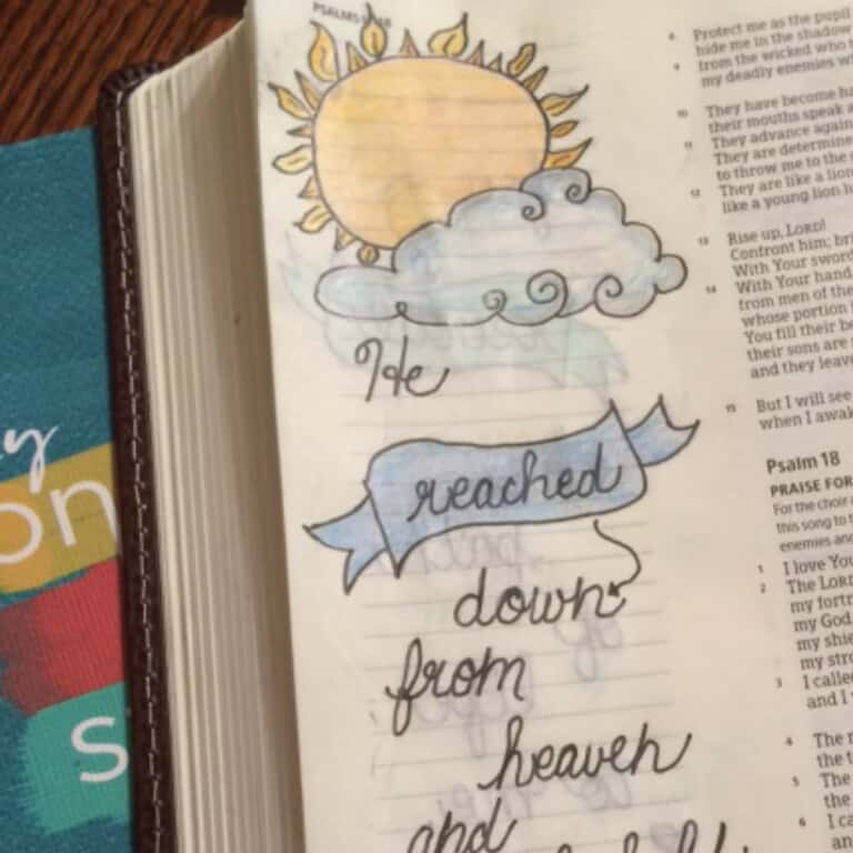 One More Step Bible Reading Challenge Summary Week 1