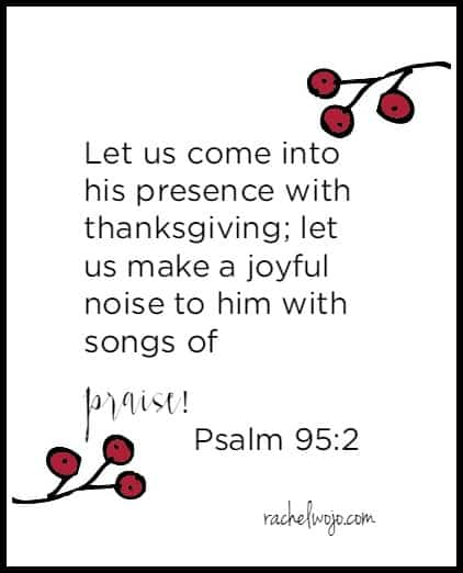 thanksgiving bible verse 2