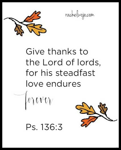 thanksgiving bible verse 3