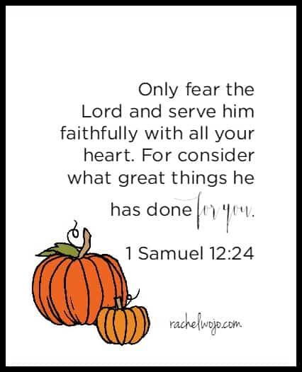 a thanksgiving bible verse