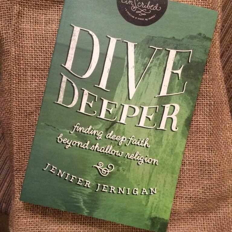 Dive Deeper Bible Study Giveaway