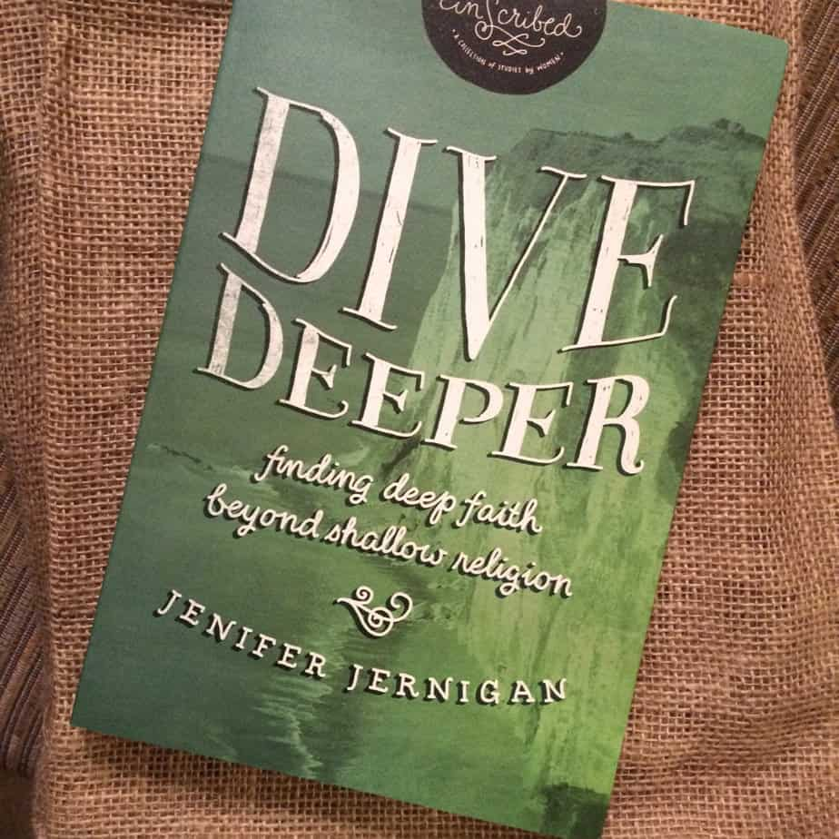 Dive Deeper Bible Study Giveaway