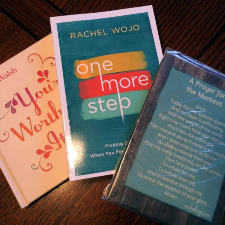One More Step Encouragement Giveaway