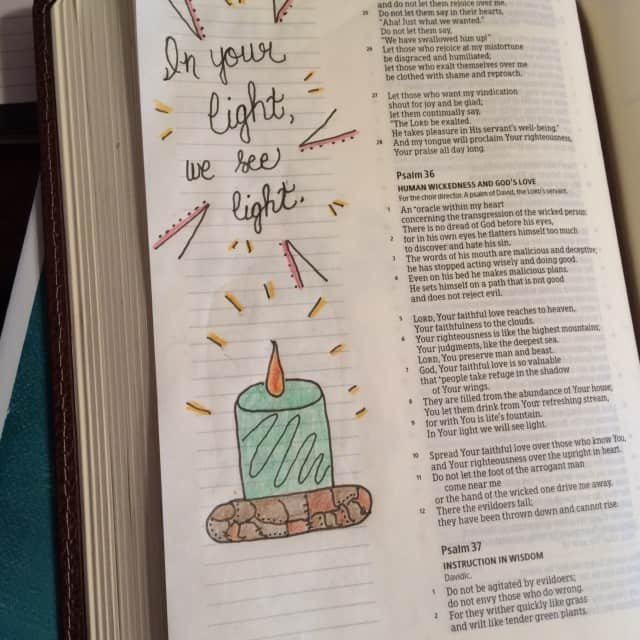 It's a simple kind of day but God loves it when we spend even a few minutes in communion with him. Just basking in his light because that's the way to see clearly. #thelight