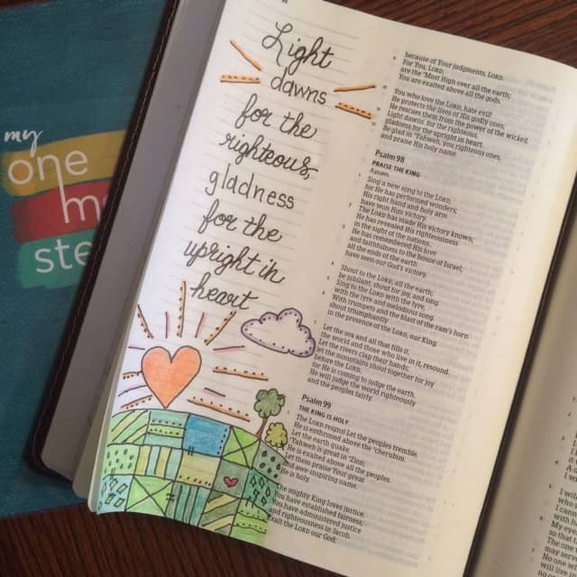 Need a little light and gladness? Try a spiritual heart checkup! Has anything been planted that shouldn't be there? Something taken root that needs pulled out? #thelight