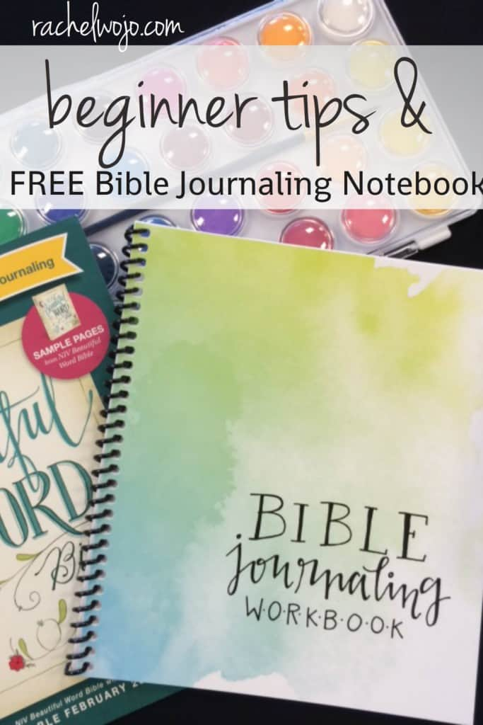 Beginner tips and free bible journaling workbook rachelwojo com