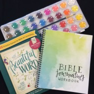 Beginner Tips and Free Bible Journaling Workbook