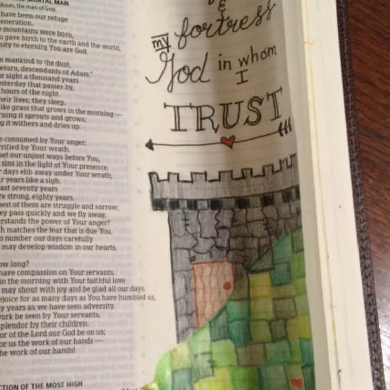In His Presence Bible Reading Summary Week 2
