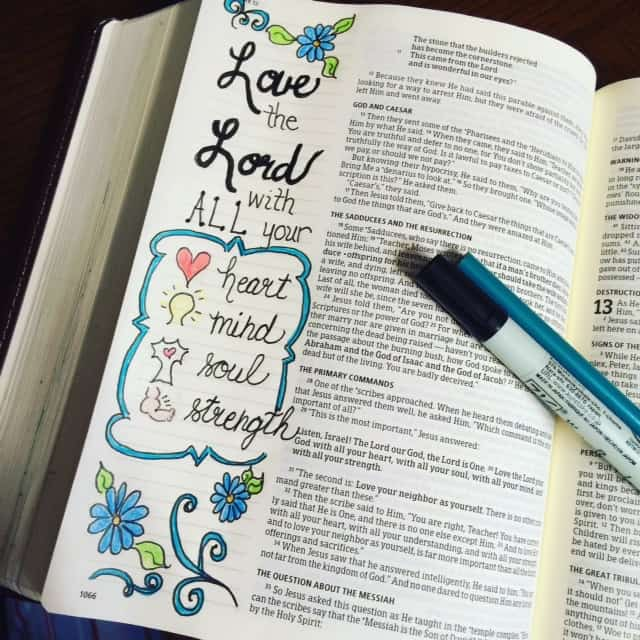 Circumstances were messed up around our house today. I caught myself not feeling the love for others I mentioned this morning. But I managed to circle back to this reminder. #truelove #biblereading#noteworthytruth #bibleartjournaling#biblejournaling