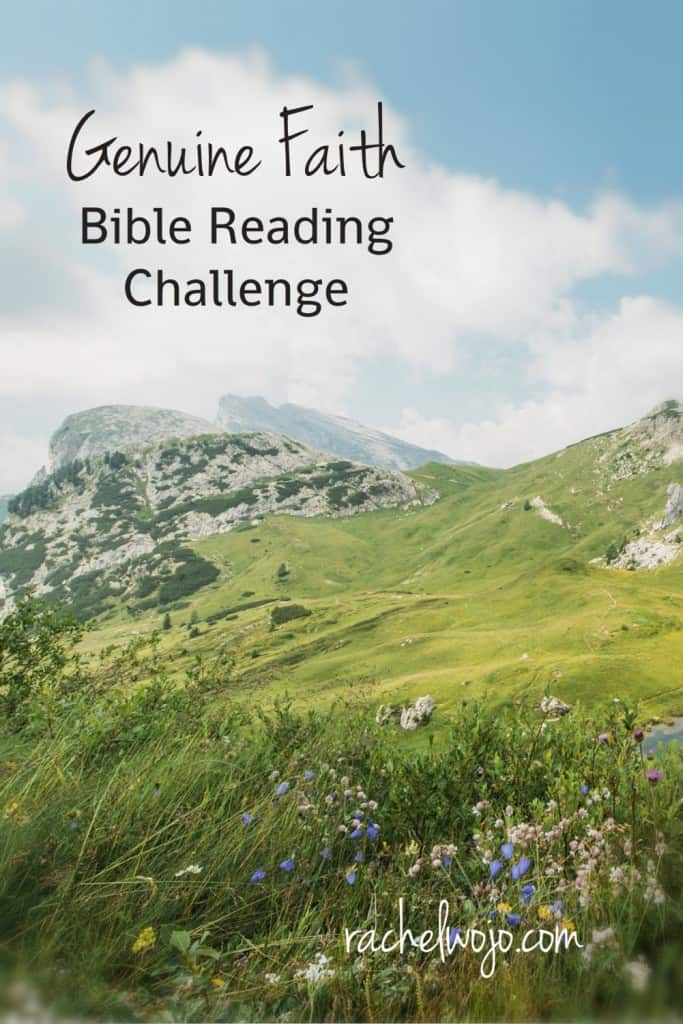 Join us for the March monthly Bible reading plan- Genuine Faith!