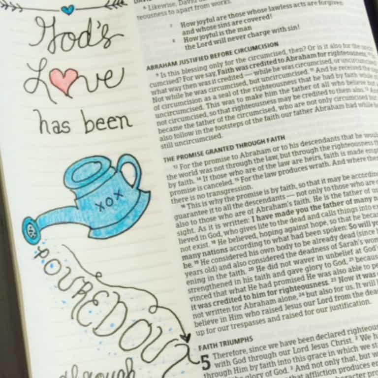 True Love Bible Reading Challenge Week 1 Summary