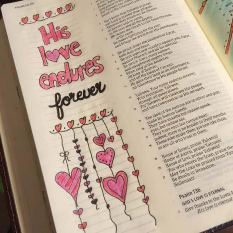 True Love Bible Reading Challenge Week 2 Summary