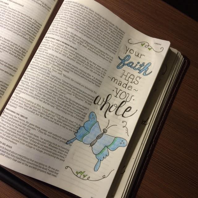 Genuine Faith Bible Reading Challenge Summary Week 1