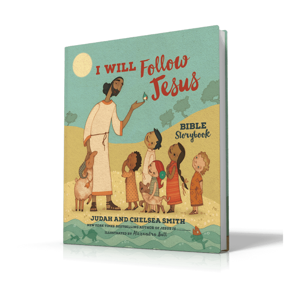 This beautiful Bible storybook will help your children know they are loved!