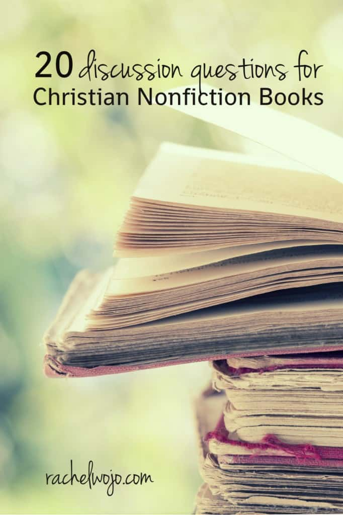 Christian Book Club Discussion Questions