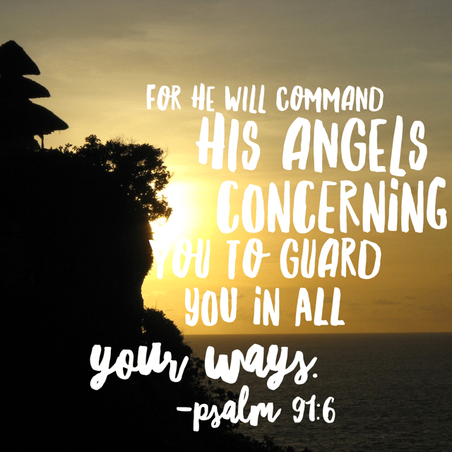 I read the entire chapter of Psalm 91 this morning to remember his protection and love. Thank you, Lord, for sending help to us before we ever realize we need it. There is no need to fear.#nofear #biblereading