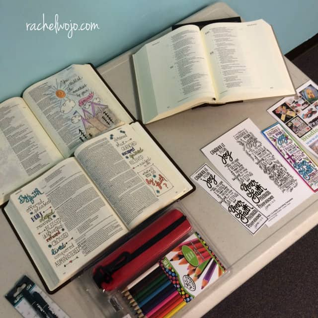 bible journaling wshop 2