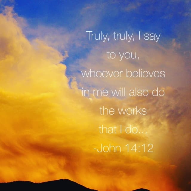 That's a very bold#genuinefaith ! Meditating on our#biblereading passage of John 8:31-38 this morning
