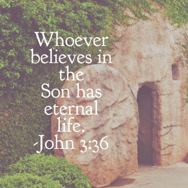 May we celebrate the Resurrection fully believing with#genuinefaith ! John 3:27-36 for today's#biblereading