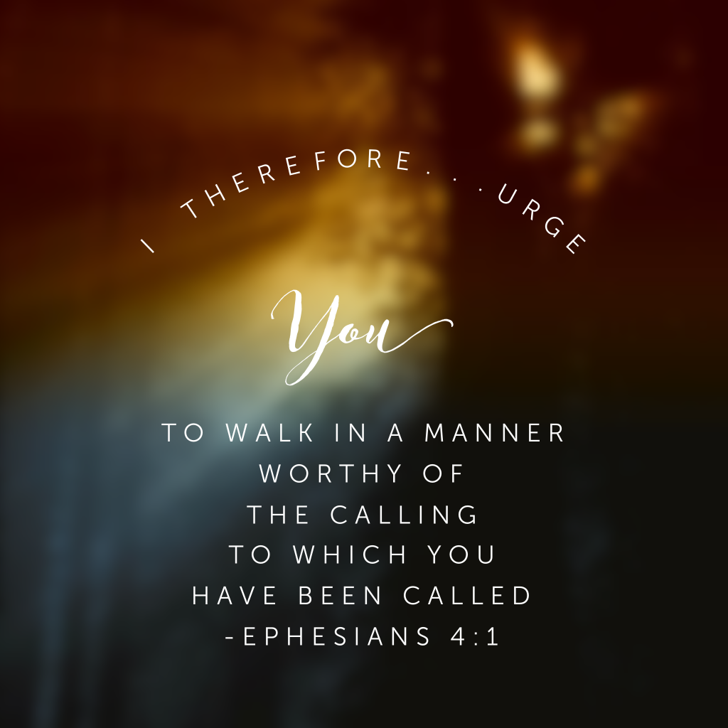 Walk worthy. Not with dragging feet or heavy heart. No, walk with humility in the knowledge of what Christ has done for you and yes, walk confidently in his saving grace. He won the victory over sin and death and it is through his victory WE have confidence to walk worthy of the unique job he has for each and every individual reading this post! #onemorestep#confidentinhim