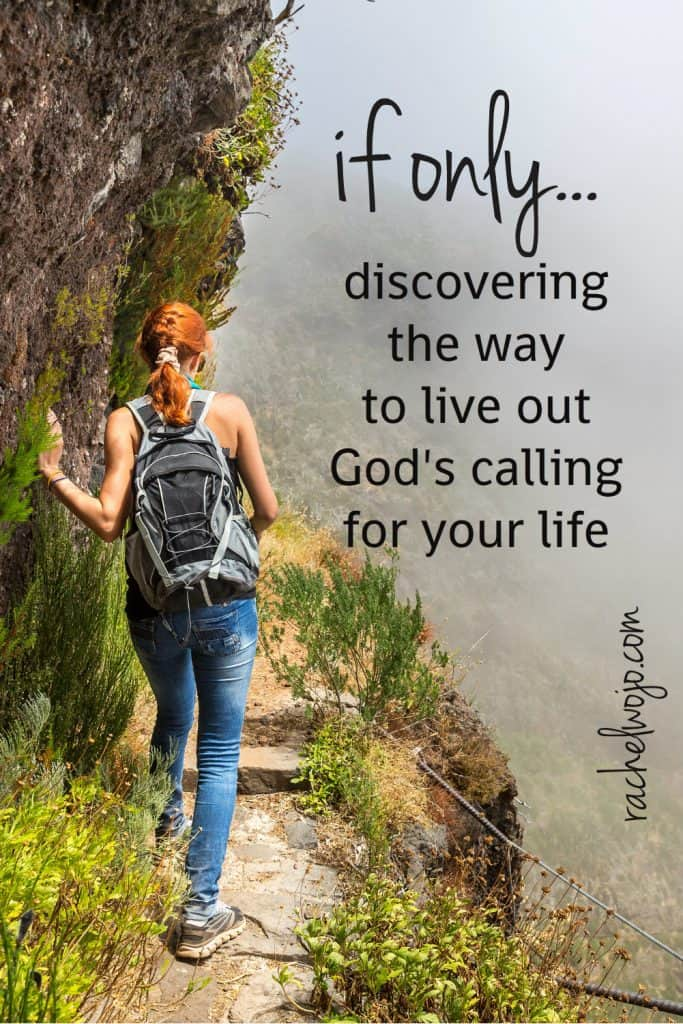 """Have you ever said """"If only I had more money, I could do fill-in-the-blank for God."""" Or if only I were more qualified. Or if only I could get in touch with xyz person of high clout, then I could really serve the Lord."""" How does one live out God's calling? You'll find the answer in this post."""