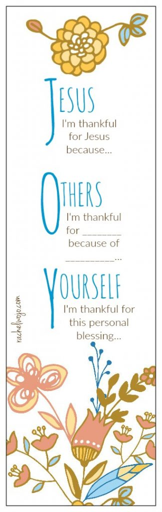 I printed 5 to begin with and I'm challenging myself to write a few words of joy each day  as a reminder that no matter the circumstances, if God's joy is in my heart, I do not have to dwell on the circumstances.  Feel free to print some for yourself or your peeps! This tool is also a great one-time exercise for your Sunday School class or small group.